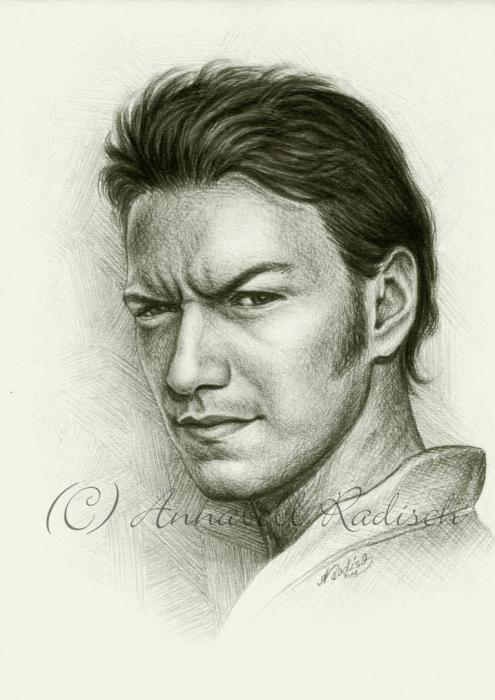 James McAvoy by Isisnofret